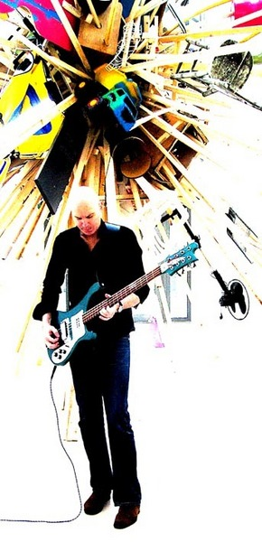 JT w/ 8 string Rickenbacker 4003s8 bass guitar, sound check
