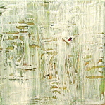 Untitled (white, gold, green)