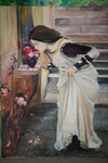 "copy after  ""The Shrine(Detail) ""John William Waterhouse"