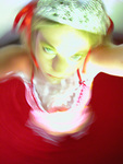 Lolita 4 (His princess wearing a red gingham dress)