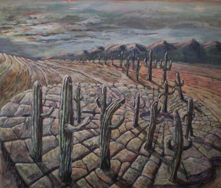 Fata Morgana 2 - israeli art. gideon saar