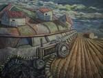 Field transplant - israeli art. gideon saar