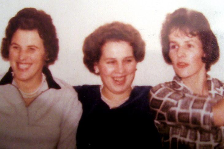 drei Schwestern, ca. 1955