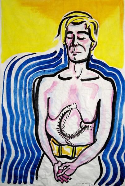 26 Alice Neel's Andy Warhol