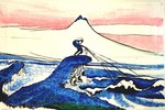 12  Hokusai Fishing