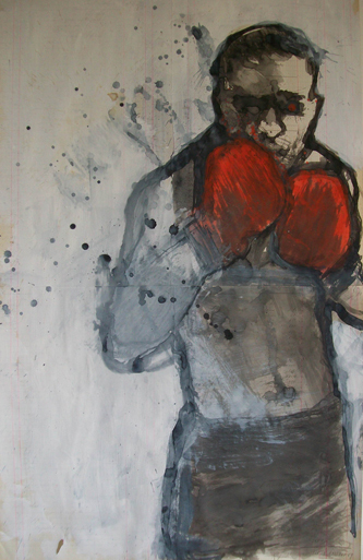 selfportrait as a boxer
