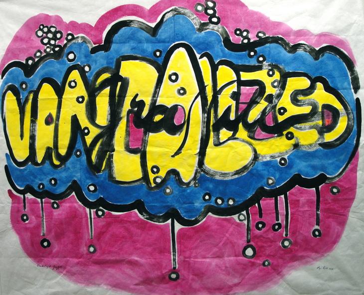 11. Vandalized Graffiti