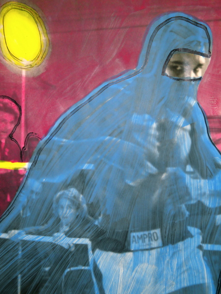 20.  Mohammed Ali In A Burqa, detail