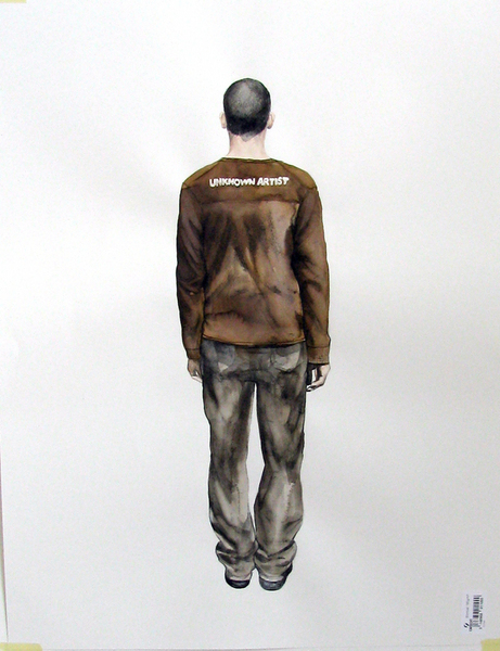 Readable Clothes series- Unknown artist