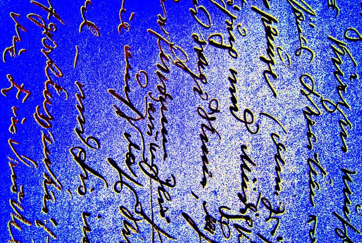 Liebesbrief seitlich