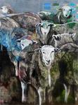 Es sind Schafe