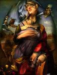 """Ghost-Portrait-2 """"Katahrina v. Alexandria"""""""