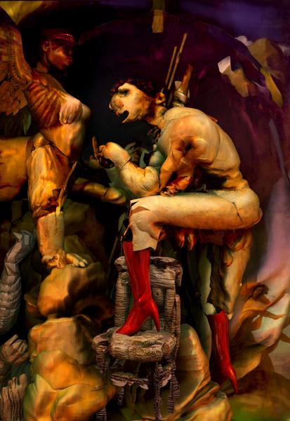 Ödipus und Sphinx