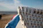 Roofed Wicker Beach Chair, Cuxhaven-Sahlenburg,  Aug 2010