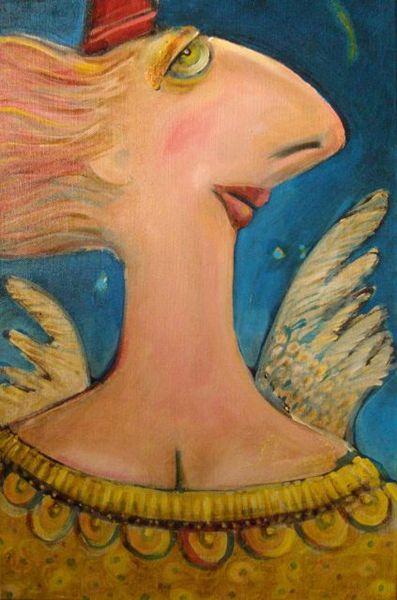 Angel, painting