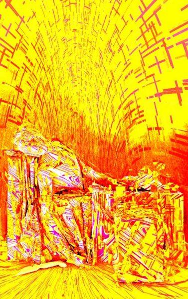 """Photon Art 3 """"der ermodete Marat"""""""