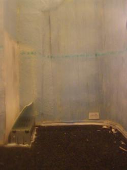 """blaues Zimmer aus der Reihe """"Einblicke"""""""