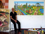 tel aviv naive paintings by raphael perez