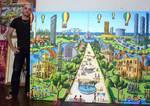 tel aviv naive paintings by israeli painter
