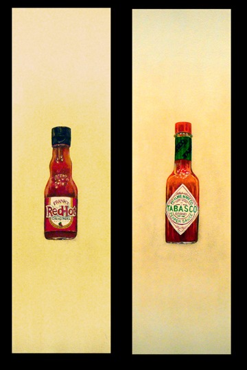 Red Hot Versus Tabasco Diptych