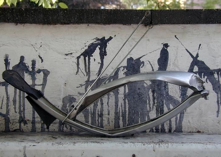 köln-schutzblechskulptur
