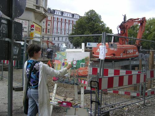 Hansaplatz Malen 11.9.2010