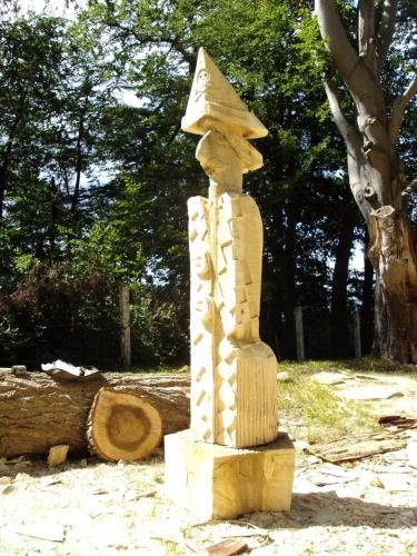 Johanson Pirat from Nowe Warpno, sculpture