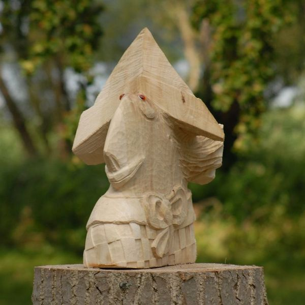 Johanson from Nowe Warpno, sculpture