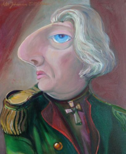 Grandfathher Johanson, painting