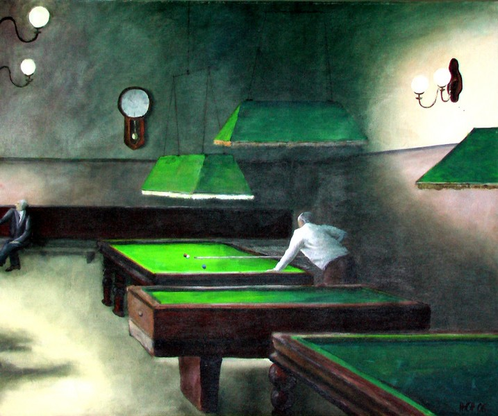 Billard in Valletta