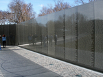 Vietnam Memorial by Maya Lin