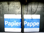 Papier und Pappe