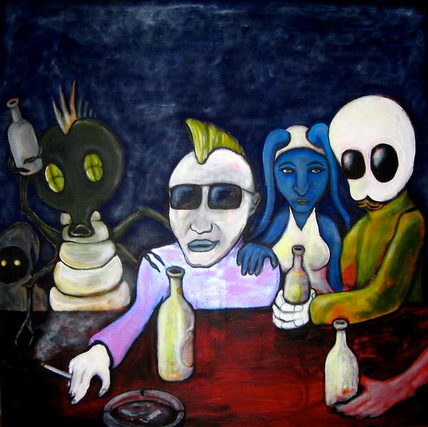 I Never Feel Alien at The Pub