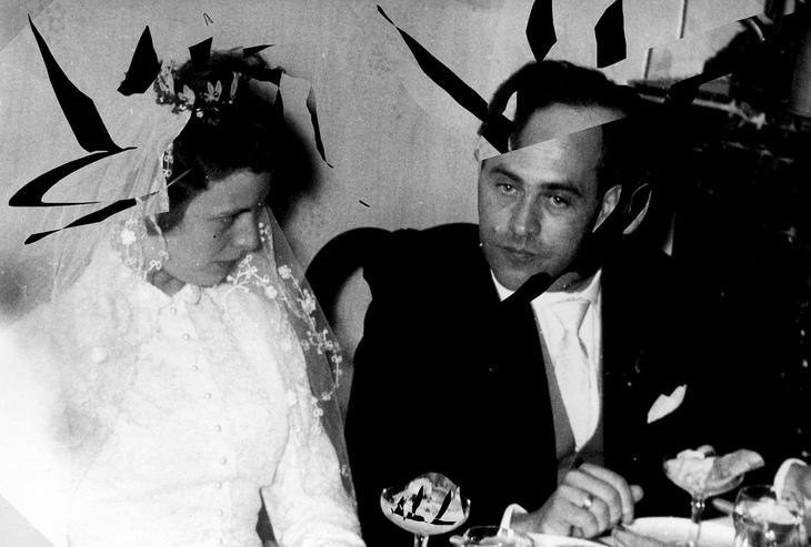 Vater und Mutter heiraten