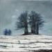 Grabhugel, Winter