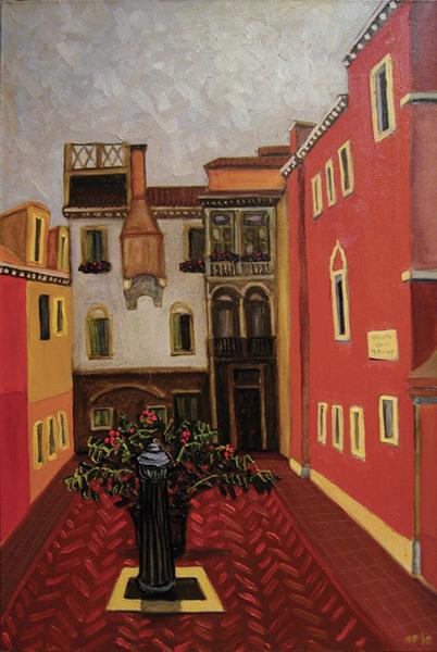 Venetian courtyard.