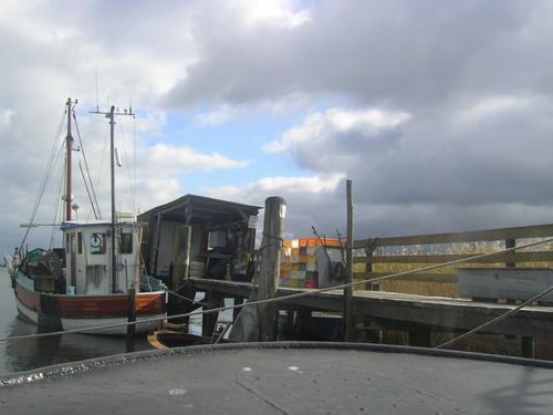 Hiddensee-Fischerboot