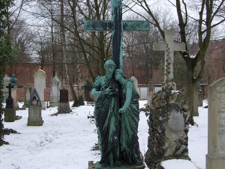 Am südlichen Friedhof in München