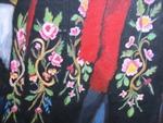 Montafoner Trachten Mädchen Detail