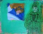 montafoner trachten - mädchen selbstportrait
