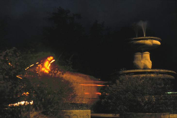 tanzender Sprinbrunnen 2