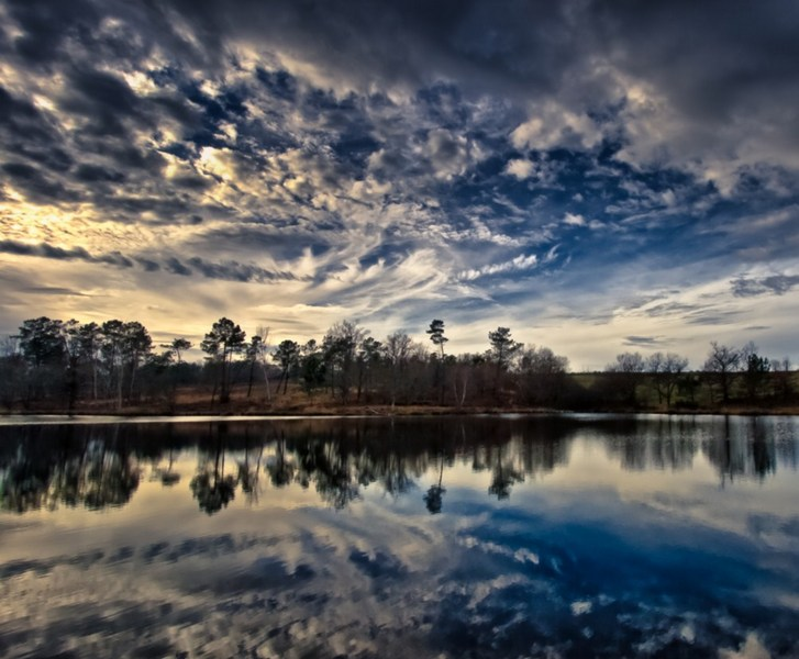 Lac de nuage