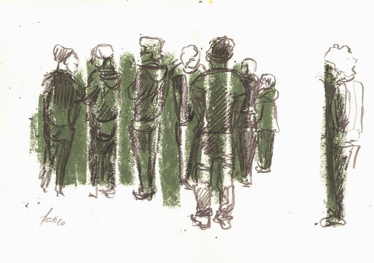 Publikumsszenerie
