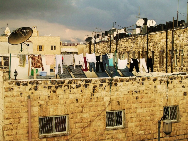 Roof tops in Jerusalem