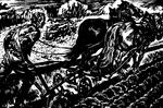 Linocut 3 Ploughing