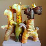 3 Kings, ceramic sculpture