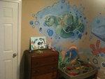 Ocean Mural -Turtle
