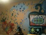 Ocean Mural -Sea Horse