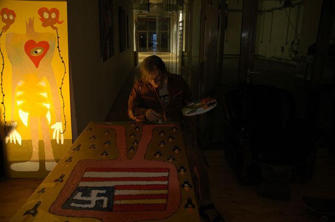 Ateliermobil im Bunker Feldstrasse Uebel&Gefaehrlich