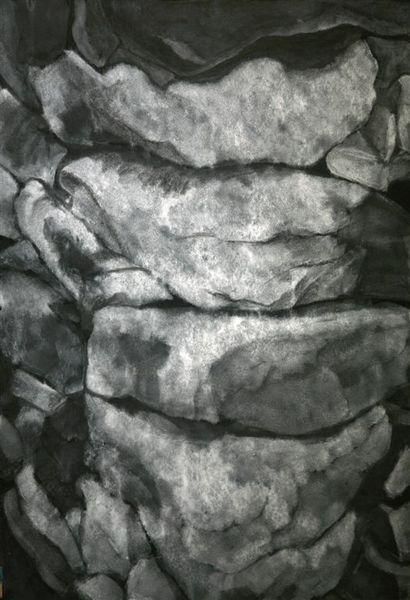 stones, corner